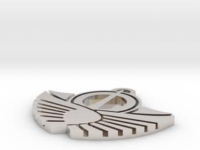 Solar Empire Pendant in Rhodium Plated Brass