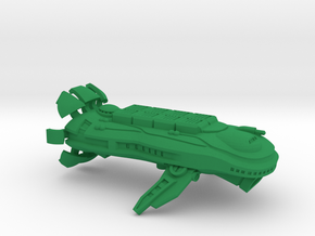 "Space Freighter ""Cetacea"" (OEM Class) in Green Strong & Flexible Polished"