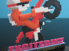 Excitebike nes in Full Color Sandstone