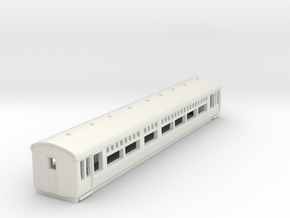 o-148-lner-trailer-1st-coach in White Natural Versatile Plastic