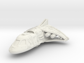 Ancient Shuttle: 1/270 scale in White Natural Versatile Plastic