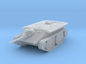 DW17C Jagdpanzer E-10 (1/87) in Smooth Fine Detail Plastic