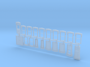 NYC Lake City Depot Doors and Windows - 2017 versi in Smooth Fine Detail Plastic