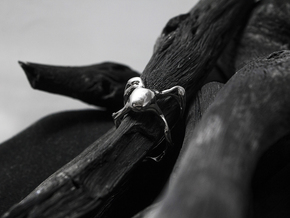 Muut_Ring (Phase 1) in Polished Silver: 6 / 51.5