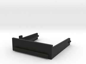 HP 41 Module cover (thinner) in Black Natural Versatile Plastic