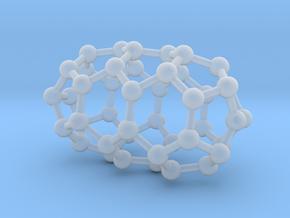 0632 Fullerene c44-3 d3d in Smooth Fine Detail Plastic