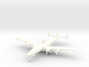 EC-121 w/gear (FUD) in White Processed Versatile Plastic: 6mm