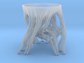 Tripod Julia bowl (thin) in Smooth Fine Detail Plastic