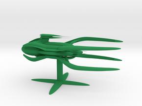Vorlon - Light Dreadnought (5 x / 3.1 y / 2.456 z) in Green Processed Versatile Plastic