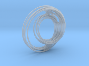 Unit Circle Julia Sets (90°) in Smooth Fine Detail Plastic