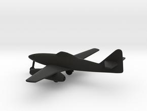 Messerschmitt Me 262 A-1a Schwalbe in Black Natural Versatile Plastic: 1:160 - N