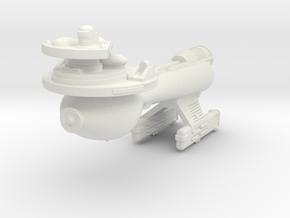 3788 Scale Klingon B10B Boom WEM in White Natural Versatile Plastic