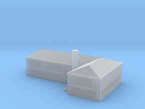GL16 industrial harbor building 1/1250 in Smooth Fine Detail Plastic