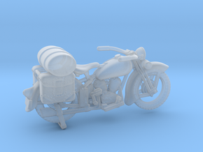 Outlaw Harley Davidson 1:87 in Smooth Fine Detail Plastic