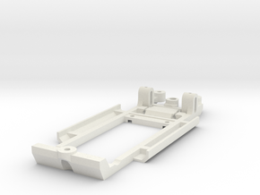 Chassis for SCX Lancia Delta Intergrale in White Strong & Flexible
