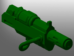Human-sized Thermal Injectors x5 in Smooth Fine Detail Plastic