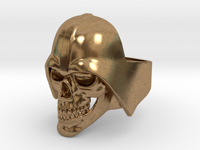 Skull Vader Ring in Natural Brass: 11 / 64