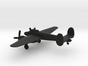 Bristol Type 164 Brigand in Black Natural Versatile Plastic: 6mm