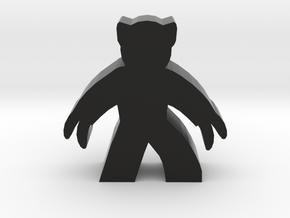 Game Piece, Claw Hero in Black Natural Versatile Plastic
