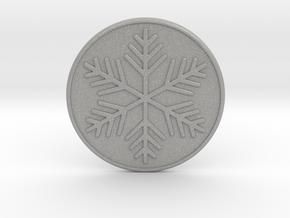 Snowflake Coaster in Aluminum
