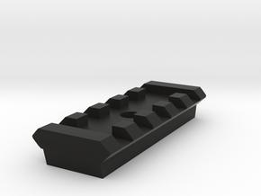 5 Slots Rail for Tripod in Black Natural Versatile Plastic