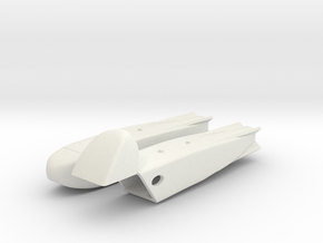 "AVPRO ""EXINT"" Transport Pod (Open/Closed) in White Natural Versatile Plastic: 1:48 - O"
