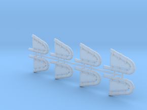 OVERHANG EXTENSION 1 in Smooth Fine Detail Plastic