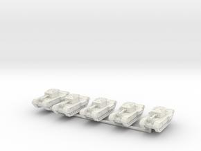 5 churchills in White Natural Versatile Plastic