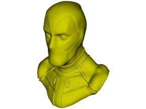 1/9 scale Deadpool fictional antihero bust in Smooth Fine Detail Plastic