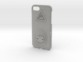iPhone 7 Garmin Mount Case - Hill Climb in Metallic Plastic