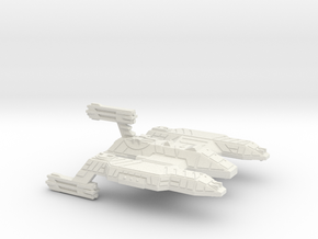 3125 Scale Lyran Lion Dreadnought (DN) CVN in White Natural Versatile Plastic
