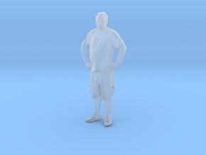 Printle C Homme 126 - 1/72 - wob in Smooth Fine Detail Plastic