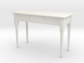 Printle Thing Table 06 - 1/24 in White Natural Versatile Plastic