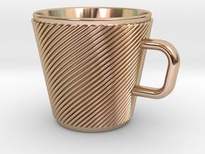 Espresso Cup - Precious metals in 14k Rose Gold