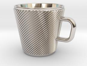 Espresso Cup - Precious metals in Platinum