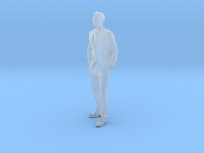 Printle C Homme 005 - 1/87 - wob in Smooth Fine Detail Plastic