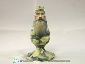 Phil Robertson the racist homophobic Plug in Full Color Sandstone