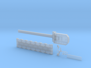 MPA 16 Tieflader ähnlich Goldhofer 7 Achs  in Smooth Fine Detail Plastic