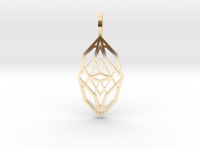 Cocoon of Light in 14K Yellow Gold