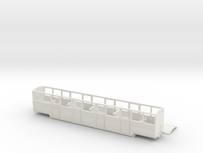 RHDR 20 seat teak saloon in White Natural Versatile Plastic