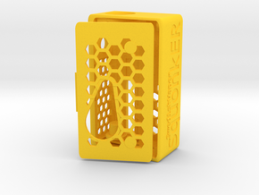 SwedishVaper SquonkER Style D in Yellow Processed Versatile Plastic