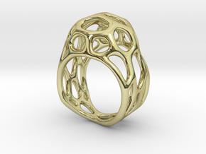 Ring Gemmi in 18k Gold Plated Brass: 7 / 54