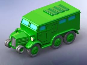 French Lorraine 28 Troop Carrier 1/285 6mm in Smooth Fine Detail Plastic