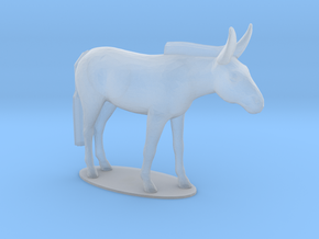 Mule in Smooth Fine Detail Plastic: 1:48 - O