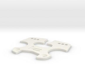 K.A.S.S. v1.2.2 [Triclamp Plate] in White Natural Versatile Plastic