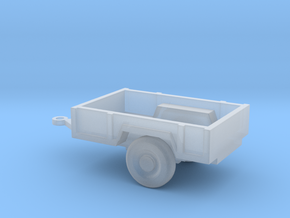 1/87 Scale M-101 Trailer in Smooth Fine Detail Plastic