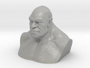 Neanderthal Hollowed in Aluminum