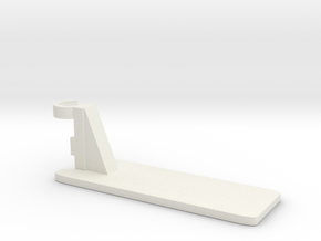 Shower shelf R in White Natural Versatile Plastic