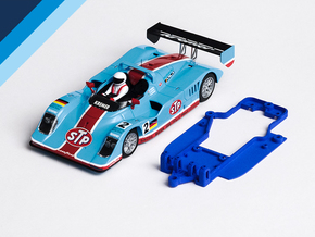 1/32 Avant Slot Kremer K8 Chassis slot.it EVO6 pod in Blue Processed Versatile Plastic