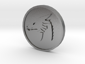 Pyre Coin Moon Silver in Raw Silver